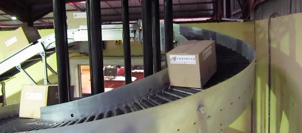Accumulating Spiral Conveyor 4