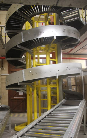 Accumulating Spiral Conveyor